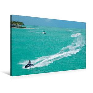 Premium Textil-Leinwand 75 cm x 50 cm quer Key West