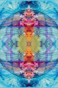 Premium Textil-Leinwand 30 cm x 45 cm hoch Quelle des Wasserfall