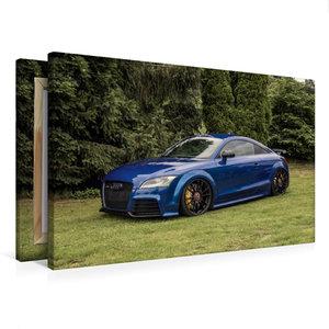 Premium Textil-Leinwand 75 cm x 50 cm quer TT Coupé RS