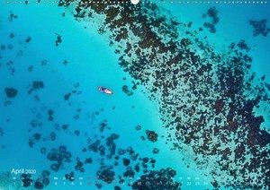 Die schönsten Meerblicke von oben (Wandkalender 2020 DIN A2 quer