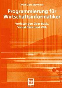 Programmierung für Wirtschaftsinformatiker