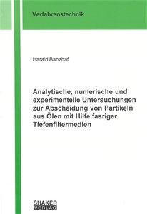 Analytische, numerische und experimentelle Untersuchungen zur Ab