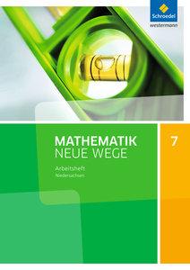 Mathematik Neue Wege 7. Arbeitsheft. Sekundarstufe 1. G9. Nieder