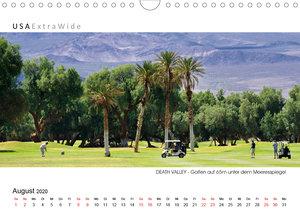 DEATH VALLEY Panoramabilder (Wandkalender 2020 DIN A4 quer)