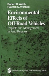 Environmental Effects of Off-Road Vehicles