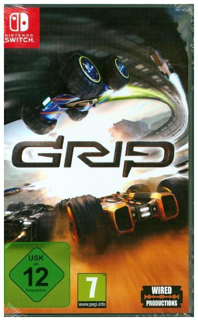 GRIP - Combat Racing (Nintendo Switch) - zum Schließen ins Bild klicken