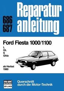Ford Fiesta 1000/1100 L/GL/S/Ghia, ab Herbst 1980
