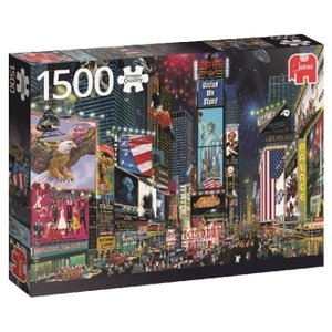 Times Square, New York - 1500 Teile Puzzle