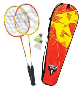Talbot Torro 449503 - Badminton Set Premium, 2-Fighter Alu im Th