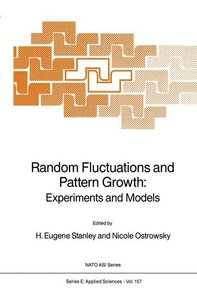 Random Fluctuations and Pattern Growth: Experiments and Models