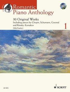 Romantic Piano Anthology, w. Audio-CD. Vol.1