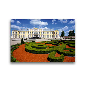Premium Textil-Leinwand 45 cm x 30 cm quer Schloss Ruhenthal/Run