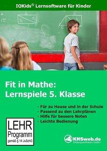 Fit in Mathe. Lernspiele 5. Klasse. CD-ROM