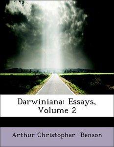 Darwiniana: Essays, Volume 2