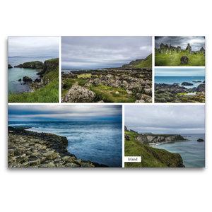 Premium Textil-Leinwand 120 cm x 80 cm quer Irland