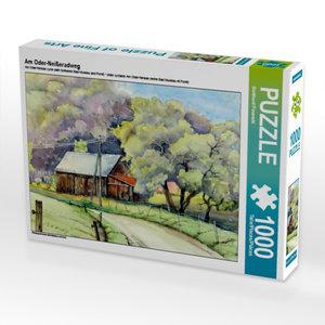 Am Oder-Neißeradweg 1000 Teile Puzzle quer