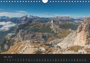 Dolomiten (Wandkalender 2019 DIN A4 quer)