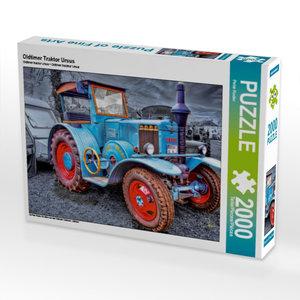 Oldtimer Traktor Ursus 2000 Teile Puzzle quer