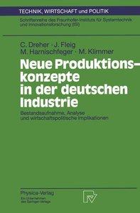 Neue Produktionskonzepte in der deutschen Industrie