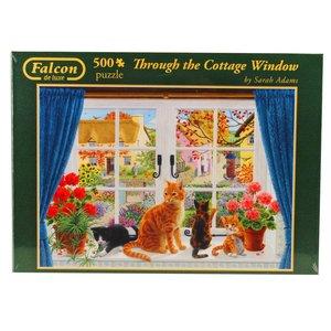 Falcon - Through the Cottage Window - 500 Teile