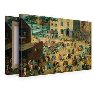 Premium Textil-Leinwand 45 cm x 30 cm quer Kinderspiele - 1560