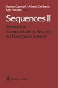 Sequences II