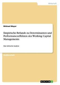 Empirische Befunde zu Determinanten und Performanceeffekten des