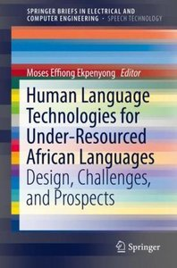 Human Language Technologies for Under-Resourced African Language