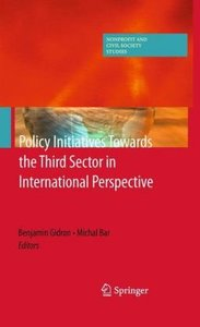 Policy Initiatives Towards the Third Sector in International Per