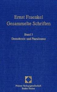 Ernst Fraenkel - Gesammelte Schriften 5