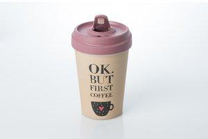 Becher BambooCUP - OK. But Coffee First
