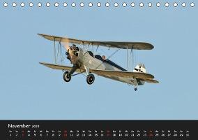 Doppeldecker - Veteranen der Lüfte (Tischkalender 2019 DIN A5 qu - zum Schließen ins Bild klicken