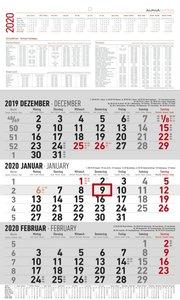 3-Monatskalender 2020 groß