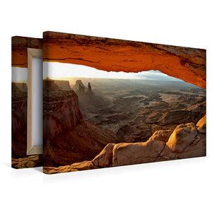 Premium Textil-Leinwand 45 cm x 30 cm quer Mesa Arch, Canyonland