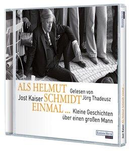 Als Helmut Schmidt Einmal