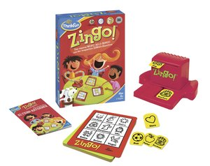 Ravensburger 76351 - ThinkFun®, Zingo!, Legespiel