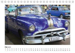 Vintage Cars (Tischkalender 2019 DIN A5 quer)