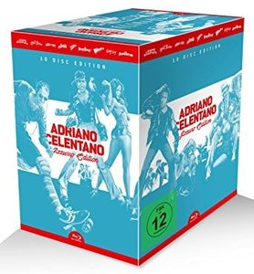 Adriano Celentano Azzurro-Edition, 9 Blu-ray + 1 Audio-CD
