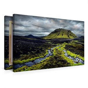 Premium Textil-Leinwand 75 cm x 50 cm quer New Life
