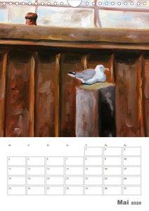 Malerisches Helgoland (Wandkalender 2020 DIN A4 hoch)