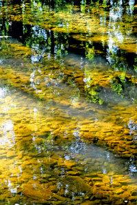 Premium Textil-Leinwand 50 cm x 75 cm hoch Ein Pool von Wasser i