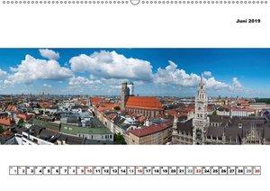 City - Panoramen (Wandkalender 2019 DIN A2 quer)