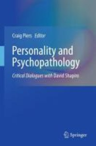 Personality and Psychopathology