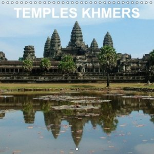 Temples khmers (Calendrier mural 2015 300 × 300 mm Square)