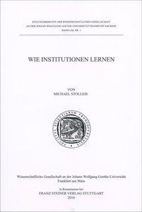 Wie Institutionen lernen