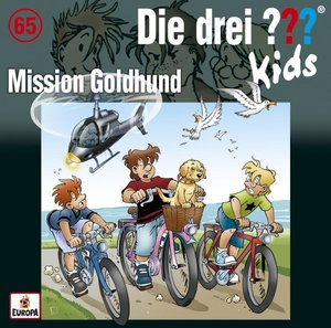 Die drei ??? Kids - Mission Goldhund, 1 Audio-CD