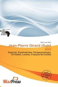 JEAN-PIERRE GIRARD (SUJET PSI)