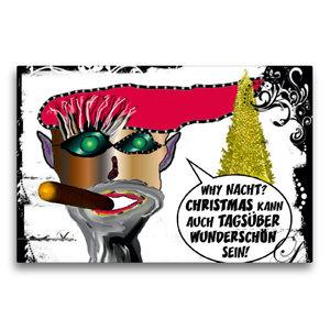 Premium Textil-Leinwand 75 cm x 50 cm quer Weihnachten