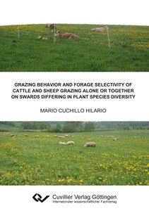 Grazing behavior and forage selectivity of cattle and sheep graz