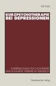 Kurzpsychotherapie bei Depressionen